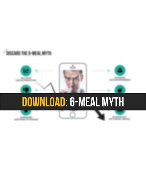 6-Meal Myth cheat sheet by Avalon Army